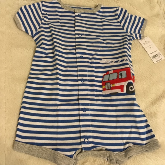 Carter's Other - Carters 3-6 Months Fire Engine Outfit
